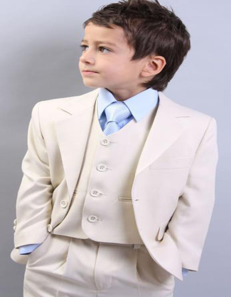 2018 White Boy Tailcoat One Button Boy Tuxedos Notched Lapel ...