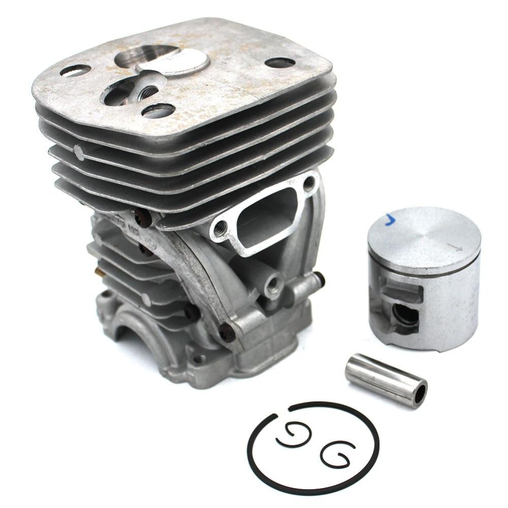 47mm Cylinder Piston Kit For Husvarna 455 455 Rancher 455E 460 460 Rancher Jonsered CS2255 Chainsaw PN 537320402 537320501