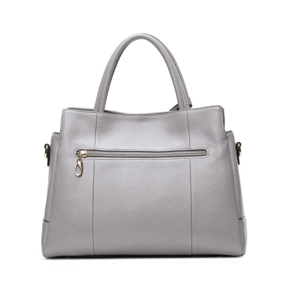 8a5947b25b02 ... LAORENTOU корова кожаная сумка для женщин Роскошные модные сумки на  плечо женская из пояса натуральной кожи ...
