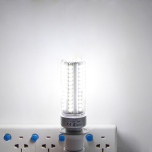 1Pcs Full Aluminum Cooling E27 E14 5W 7W 9W 12W 15W 18W 20W LED Corn light lamp No Strobe AC85V-265V 5736SMD LED Spotlight Bulb