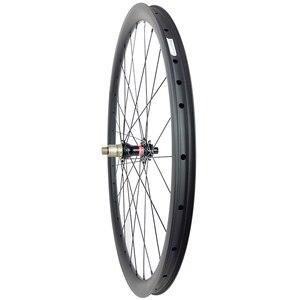 Image 4 - 1300g 650B MTB XC 30 مللي متر الفاصلة لايحتاج عجلات الكربون إطارات دراجة تسلق الجبال خفيفة الوزن الحصى العجلات Novatec محاور 15X100 12X142 9 مللي متر 11s XD XDR 12s