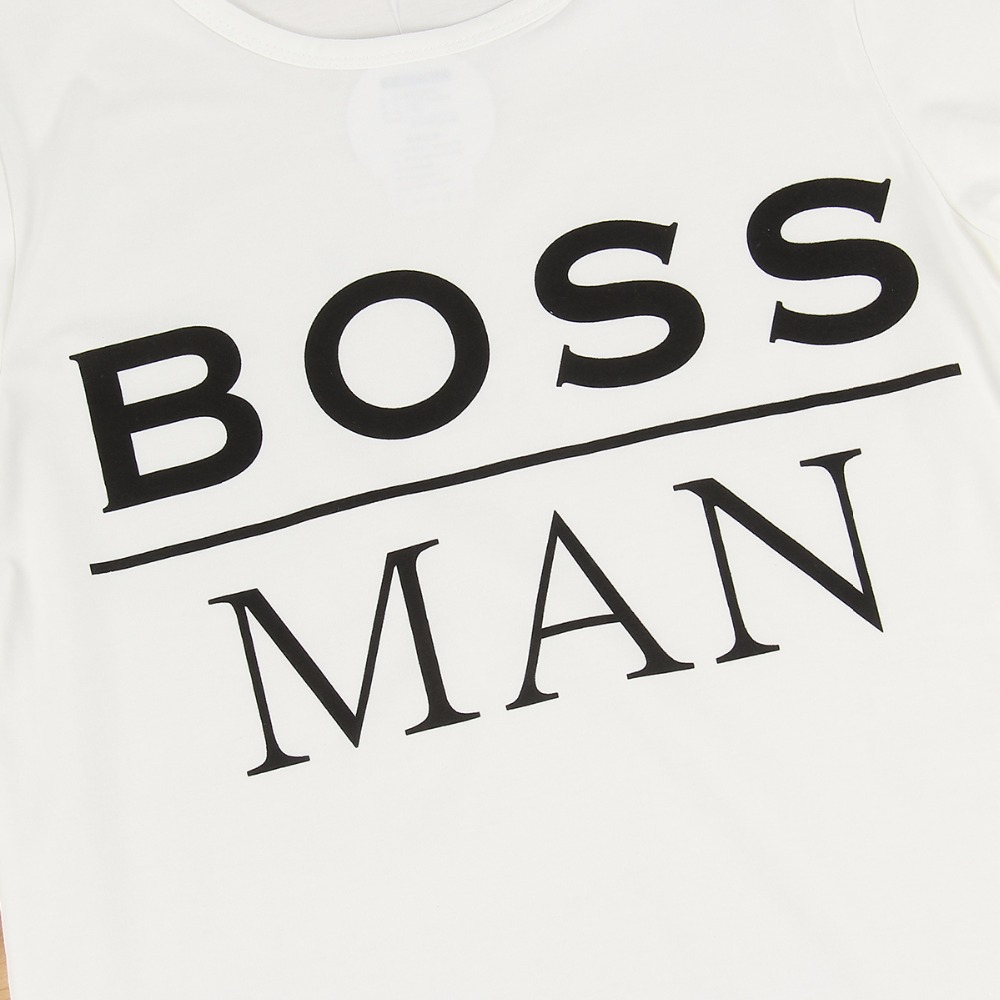3cdadb59cea BOSS tshirts New hot summer clothes Men s fashion Tee shirts Letter print  Cool pullover Cotton T shirt for men-in T-Shirts from Men s Clothing on ...