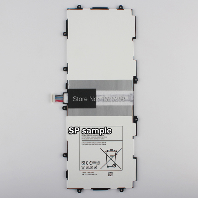 New Replacement Battery For Samsung GALAXY Tab3 P5210 P5200 P5220 T4500e 6800mAh