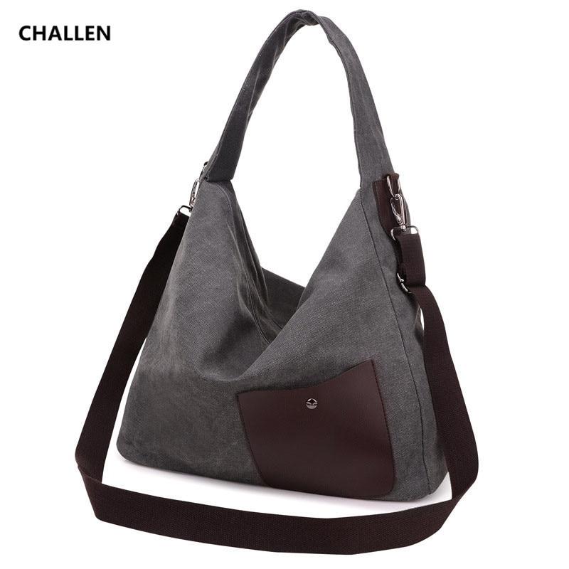 Women Bag 2017 New Style Canvas Handbags Messenger Bags Female Casual Shoulder Bags Designer Handbags Bolsa Feminina CH091