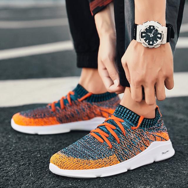 TOURSH Sneakers Running Shoes Running Shoes For Men Sepatu Pria Krasovki  Men Summer Tmallfs Zapatillas Hombre Deportiva Homme e6f5c57e5a
