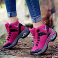Hot Sale Outdoor Woman shoes Climbing Casual shoes Velvet warm Waterproof Size 36-40 Puncture proof Walking Air shock absorptio