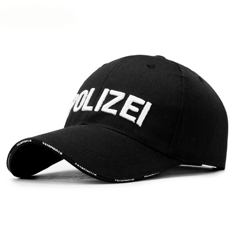High Quality Police   Cap   Unisex Hat   Baseball     Cap   Men Snapback   Caps   Adjustable Snapbacks For Adult