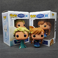 1pcs/lot High Quality POP FUNKO POP Princess Elsa Anna 10cm Boneca PVC Action Figure Collection Toy For Children T395