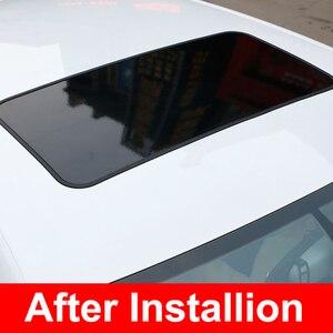 Gloosy, pegatina de revestimiento para coche de vinilo negro, techo solar falso para VW BMW AUDI Chevrolet Kia Subaru Honda Toyota
