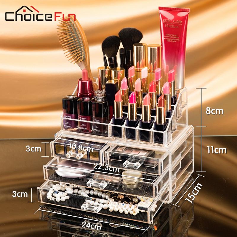 CHOICE-FUN-Makeup-Organizer-Storage-Box-Acrylic-Make-Up-Organizer-Cosmetic-Organizer-Makeup-Storage-Drawers-Organizer