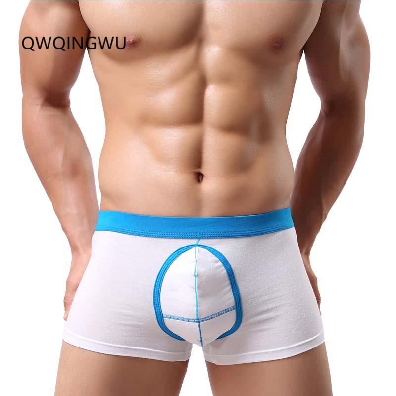 Men's Underwear Cotton Men Boxer Slip Homme Shorts Men Gay Underpants Sexy Underwear Big Men Shorts Soft Cueca Boxer Masculina
