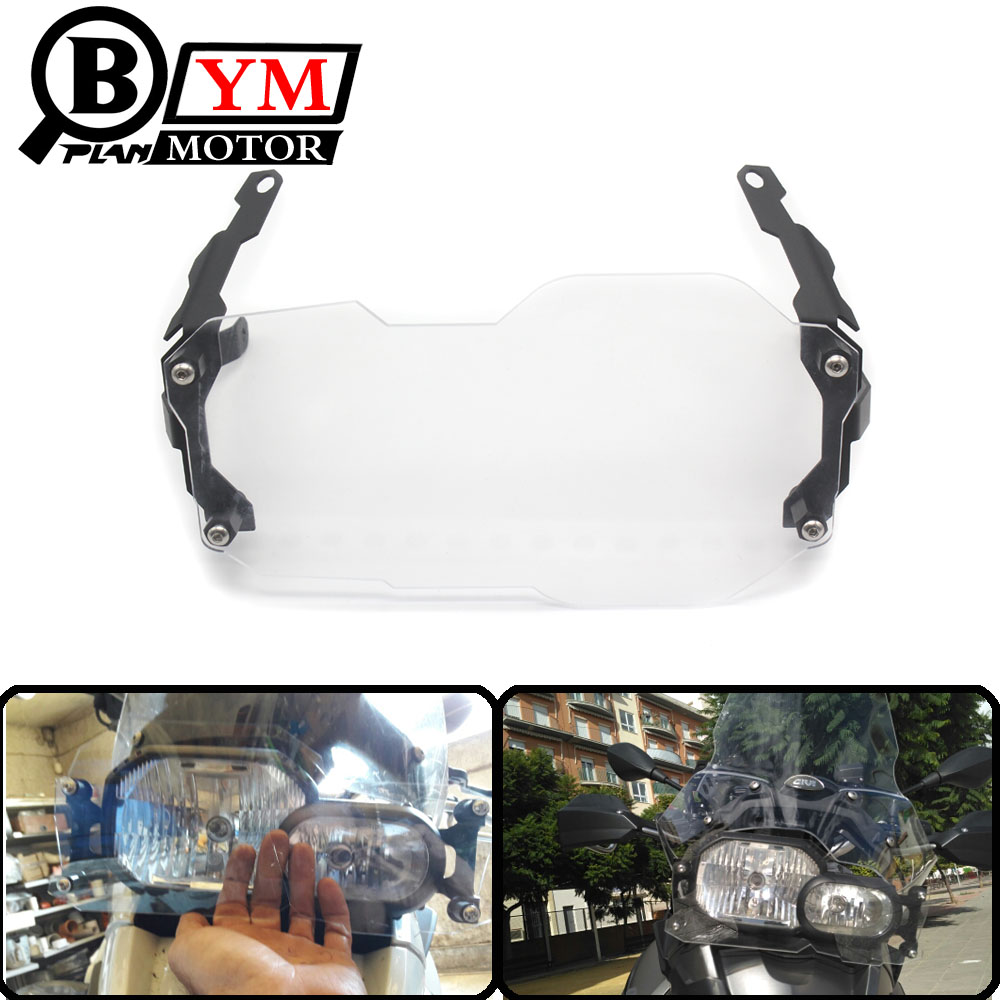 Motorcycle Headlight Lamp Grill Protector Guard For BMW R 1200 GS ADV Adventure R 1200GS (Water Cooled) 2012-2016 for bmw r1200gs adv f800gs adv f700gs new motorcycle adjustable handlebar riser bar clamp extend adapter