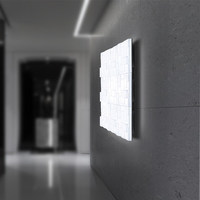 Simple Fashion Modern Wall Sconce Creative Square Acrylic LED Wall Light For Home Lighting Bedside Wall Lamp Lamparas Pared