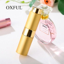 1Pc High quality 15ML Portable Mini Aluminum Refillable Spray Perfume Bottle Empty Cosmetic Containers Atomizer For Traveler