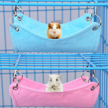 OWDBOB Pet Hamster Hammock Small Animals Rat Parrot Ferret Hamster Hanging Bed Cushion House Cage Accessories for Hamsters 1pc hamster hanging house hammock cage sleeping nest pet bed rat hamster toys cage swing pet banana design small animals