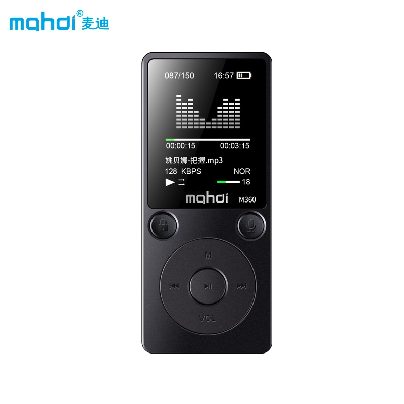 Mp4 Player Mahdi M360 4g 8g Alarm Clock