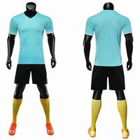 19 20Blank men's and children's football jersey suit adult sports club jerseys athletes football uniforms custom jerseys