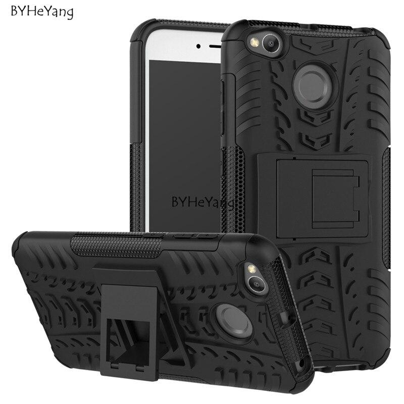 5 0 Inch Case Xiaomi Redmi 4x Cover ShockProof TPU PC Phone Stand Case For Xiaomi