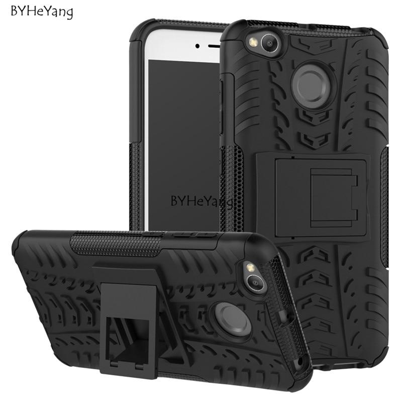 5,0-Zoll-Fall xiaomi redmi 4x Abdeckung ShockProof TPU + PC-Telefonständer Fall für xiaomi redmi 4X 4 X pro Rüstung Telefonschutz Haut