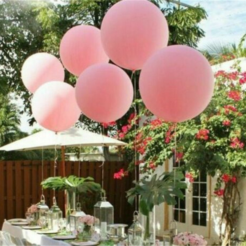36 quot Inch Balloon Giant Big Ballon Latex Birthday Wedding Party Baby Shower Helium Decoration DROP SHIPPING OK in Ballons amp Accessories from Home amp Garden