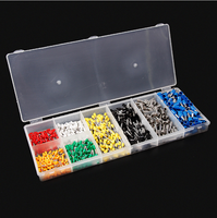 Hot Sale 800Pcs Lot Electrical Wire Connector 20 10 KWG Copper Insulated Cord Pin End Crimp