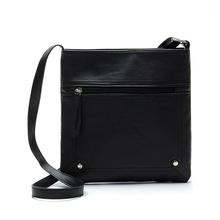 VSEN Hot Fashion Womens Cross body zipper Shoulder Messenger Bag Black