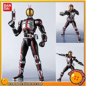 "Image 1 - ""Kamen Rider Faiz"" oryginalny BANDAI Tamashii narodów S.H. Figuarts SHF figurka Kamen Rider Faiz 20 Kamen Rider kopnięć Ver."