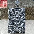 925 homens de prata dragão dragão homens dominadores tailandês pingente de dragão