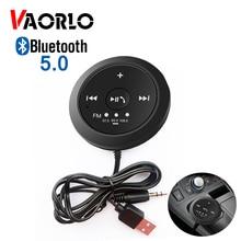VAORLO Bluetooth 5,0 приемник автомобильный комплект громкой связи FM Bluetooth передатчик стерео беспроводной адаптер USB 3,5 мм Мини магнитный для автомобиля