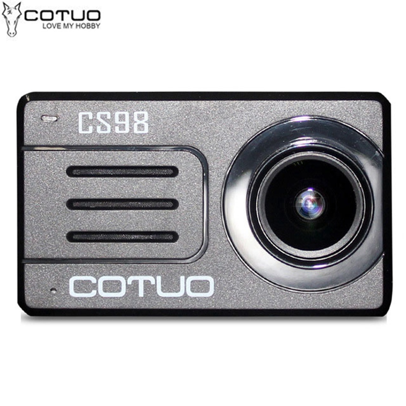 COTUO CS98 4K 24fps HD Notavek 96660 2.45 Inch Touch Screen Action Sport Camera support Touch Screen WIFI NightShot Function