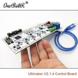 Image 5 - Generazioni della scheda di controllo Ultimaker 2 V2.1.4 scheda finita UM2 parti della stampante 3D fornitura speciale spedizione gratuita