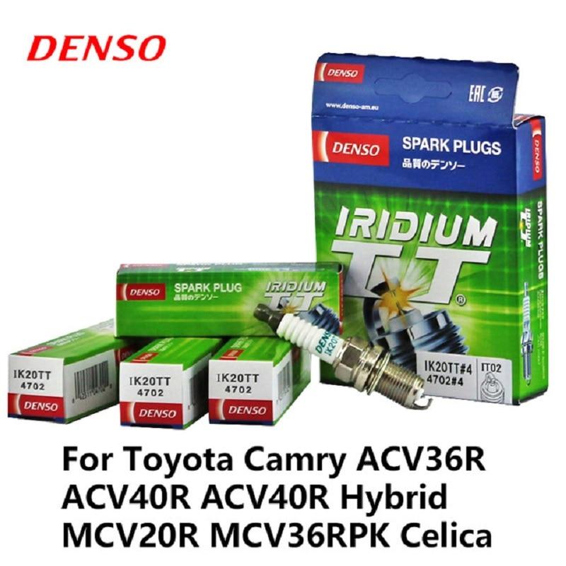 4 unids/lote coche DENSO bujía Iridium platino para Audi A1 A3 A5 Chery Tiggo VW Bora BYD Gran Muralla hover H3 H5 Swift IK20TT