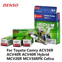 4pcs/lot DENSO Car Spark Plug Iridium Platinum For Audi A1 A3 A5 Chery Tiggo VW Bora BYD Great Wall Hover H3 H5 Swift IK20TT