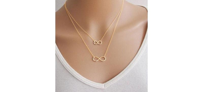 Eight Bar Shape Necklace