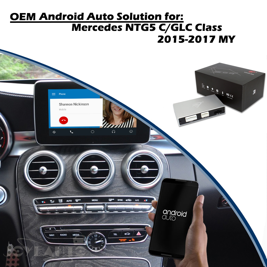 Joyeauto Wifi Wireless Carplay Android Auto Mirror Retrofit for Mercedes C  CLA CLS class NTG 5 1 5 2 5 5 support Reverse Camera