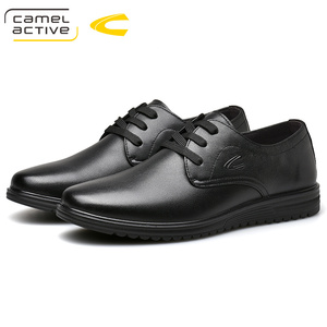 Image 5 - Camel Active 2019 New Men Wedding Black Lace Up Oxford Genuine Leather Shoes Spring/Autumn Party Business Male Dress Brown Shoes