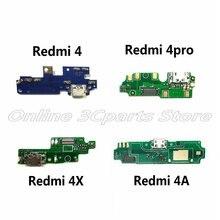 Микрофонный модуль+ USB плата с зарядным портом, гибкий Кабельный разъем, запчасти для Xiaomi Redmi 4 4Pro 4A 4X, замена