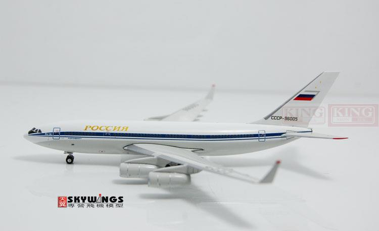 Phoenix 10744 Russian aviation CCCP-96005 IL-96-300 gold commercial jetliners plane model hobby phoenix 11037 b777 300er f oreu 1 400 aviation ostrava commercial jetliners plane model hobby