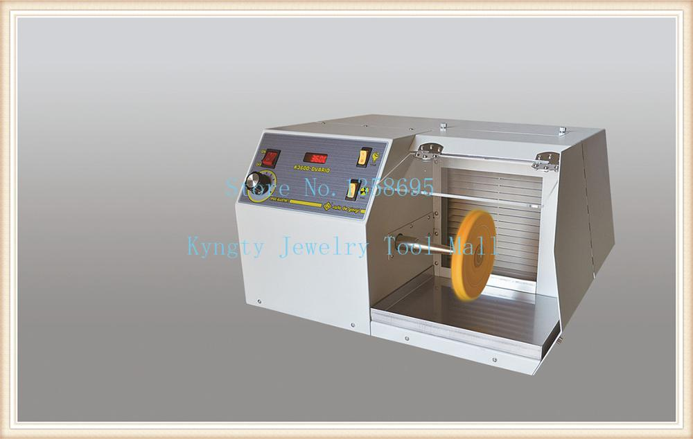 New Arrival 220V 3600 rpm Jewelry Polishing Machine with Digital Display Buff Polisher