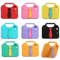 New Design 3D Necktie Kids Case For IPad Mini 2 3 1 EVA Foam Shockproof Stand