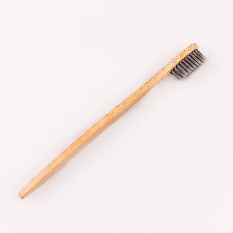 NEW Natural Bamboo Toothbrush Bamboo Charcoal Toothbrush Low Carbon Bamboo Nylon Wood Handle Toothbrush