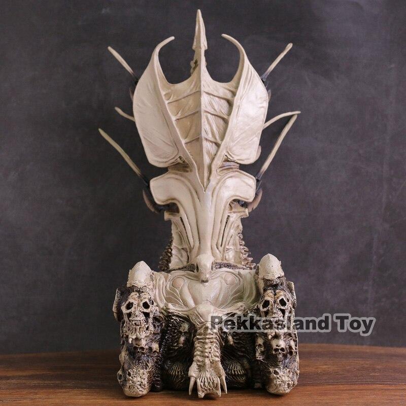 NECA prédateur chef de Clan prédateur trône Diorama élément Statue Figure modèle à collectionner jouet