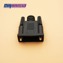 10pcs High-quality DB9 Male Female Shell Connector RS232 Serial Port Shell 2 Rows 9 Pin Plastic