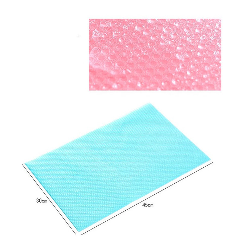 Image 2 - 1 Pc Refrigerator Pad Antibacterial Antifouling kitchen 