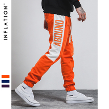 INFLATION 2018 Brand Track Casual Men Sweatpants Mens Hiphop Jogger Track Pants Sportwear Fashion Trousers 365W17