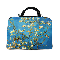 Almond Blossom BLACK JE collection Chinese lianpu series computer sleeve M