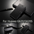 Para Huawei 620 s Caso Carteira de 5.0 Polegada Com Slots de Cartão de Suporte de Couro cobrir para huawei ascend g620s g g620 620 620 s s caso de luxo