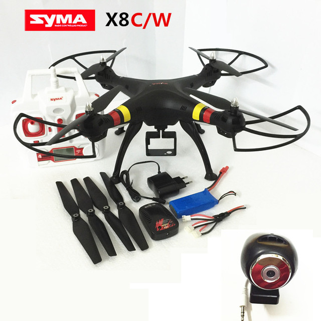 RC Drone Syma X8W Drone With Camera  2.4G Professional Drones Quadcopter RC Helicopter Can Carry Gopro/Xiaoyi/SJCAM VS MJX X101