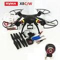 RC Drone Syma X8W Drones Quadcopter RC Helicóptero Zangão Com Câmera 2.4G Profissional Pode Transportar Gopro/Xiaoyi/SJCAM VS MJX X101