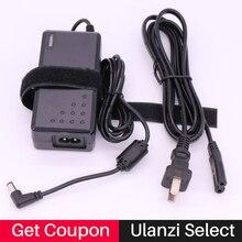 Ulanzi פלקון עיני AC חשמל מתאם עבור Yongnuo YN300 III YN300III YN300Air YN600 YN600L השני מצלמה LED וידאו אור עבור canon